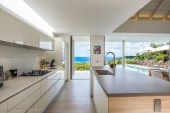 Alhéna kitchen ocean view
