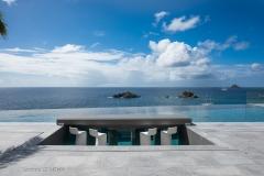 Axel Rocks pool ocean view