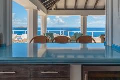 Cap Au Vent kitchen ocean view