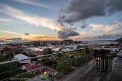 Casa Roc harbour view sunset