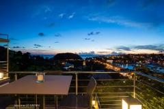 Casa Roc ocean view by night