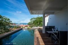 Casa Roc pool harbour view
