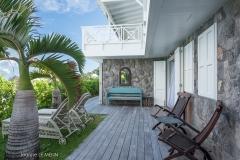 Il Faro terrace bedroom