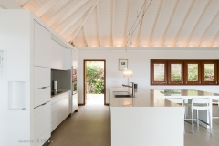 Ocean Five kitchen inside dinning